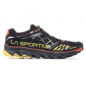 Helios SR Mens Off-Road Running Shoes Black/Yellow