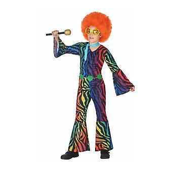 Kinder kostuums disco jumpsuit voor jongens