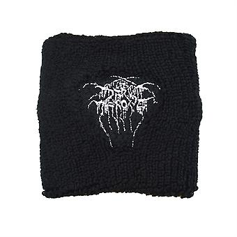 Darkthrone insignia bordada pulsera muñequera