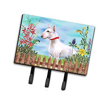 Carolines Schätze CK1255TH68 Bull Terrier Frühjahr Leine oder Schlüsselhalter