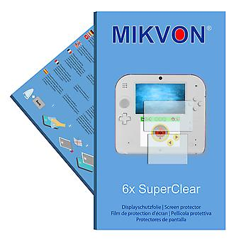 Nintendo 2DS screen protector- Mikvon films SuperClear