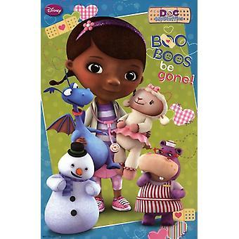 Doc McStuffins - Boo Boos være gått plakatutskrift