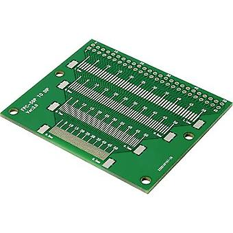 Prototyping PCB Epoxide (L x W) 37 mm x 35.6 mm 35 µm Contact spacing 2.54 mm Conrad Components TSOP56-SOP56 Content 1