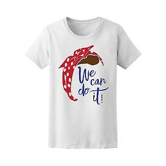 Feministische We Can Do It Rosie Tee Frauen ist - Bild von Shutterstock