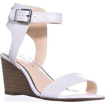 Jessica Simpson Cristabel Ankle Strap Wedge Sandals, Powder