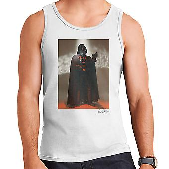 Star Wars Behind The Scenes Darth Vader White Men's Vest