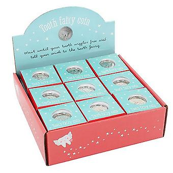 Something Different Tooth Fairy Coins In Display (Set Of 27)