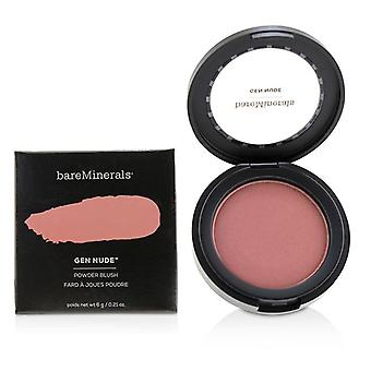 Bareminerals Gen Nude Powder Blush - # On The Mauve - 6g/0.21oz