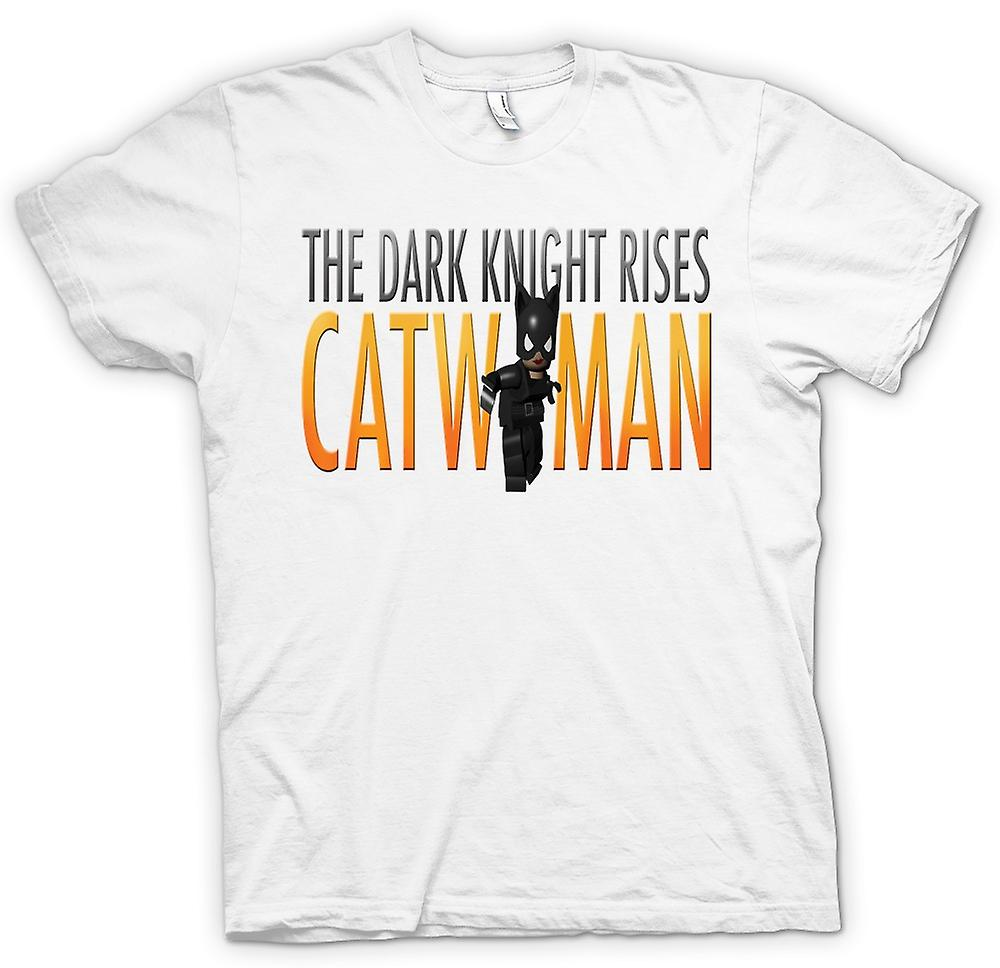 Mens T-shirt - Catwomen - The Dark Knight Rises