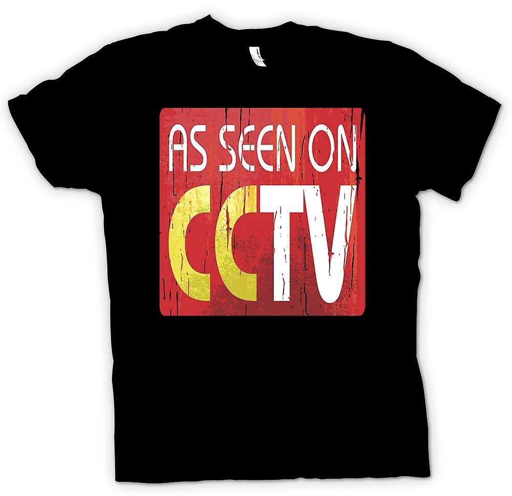 Mens t-shirt - come visto su CCTV - grande fratello