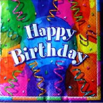 Brilliant Birthday Party Napkins
