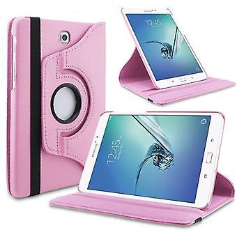 caso di copertura di 360 gradi-rosa per Samsung Galaxy scheda S3 9,7 T820 T825