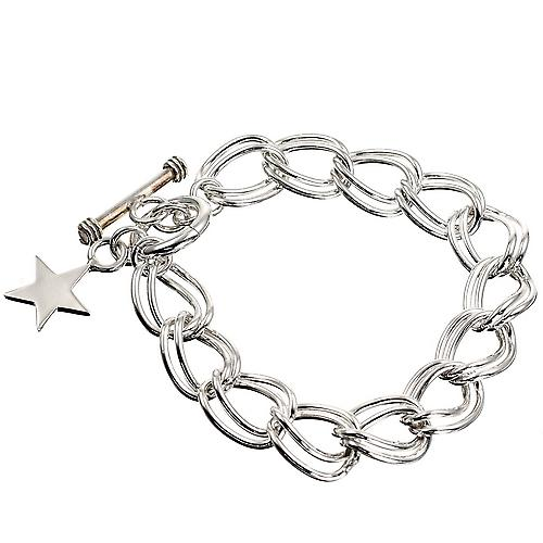 Sternenhimmel Duo Silber Armband