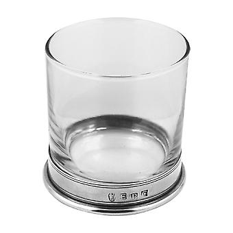 Vogue Pewter Whisky Glass Single Tumbler