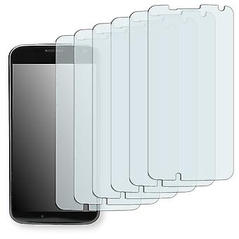 Motorola XT1055 screen protector - Golebo Semimatt protector (deliberately smaller than the display, as this is arched)
