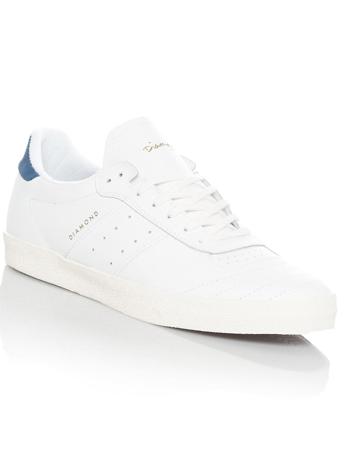 Diamond Co Supply Co Diamond White Leather Barca Shoe 5e4668
