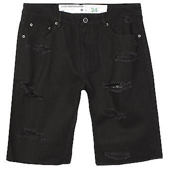 LRG On Deck Bull Denim Short Black