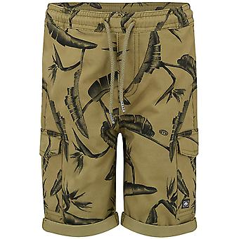 Animal Lizard Green Beck Kids Cargo Shorts