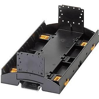 Phoenix Contact BC 161.6 UT HBUS BK DIN rail de boîtier (partie inférieure) 89,7 x 161,6 x 62,6 noir en Polycarbonate (PC) 1 PC (s)