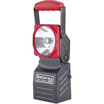 AccuLux Cordless handheld searchlight Black, Red 456541 LED