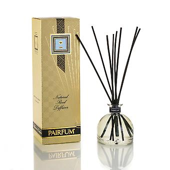 Large & Natural Reed Diffuser - Long-lasting & Healthy - Beautiful Perfumes that Compliment You - Fragrances for 6 - 9 months (250 ml) - by PAIRFUM - Perfume: SPA - For Men - with Black Reeds