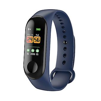 M3 Water Resistant Activity Bracelet With Color Display-Blue
