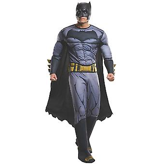 Batman v Superman Deluxe Muscle Dawn of Justice DC Superhero Mens Costume