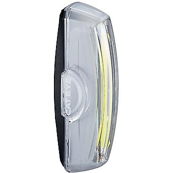 CatEye White Rapid X2 USB Rechargeable Road Bike Light-Front