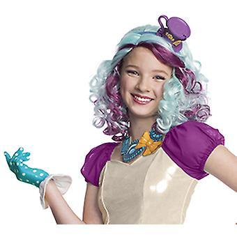 Madeline Hatter peluca siempre de alta peluca para niños