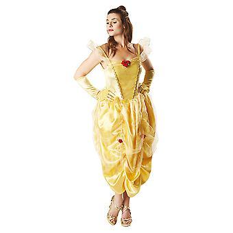 Belle Belle en het beest kostuum voor dames jurk