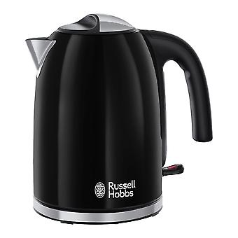 Russell Hobbs 20413 Colour Plus Black Cordless Electric Kettle
