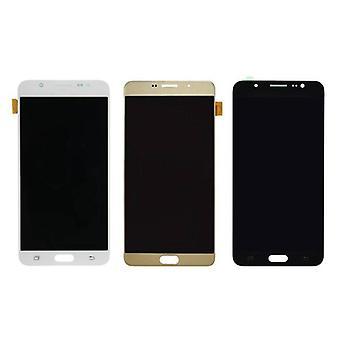 Roba certificata® Samsung Galaxy J7 2016 Display (LCD + Touch Screen + parti) A + qualità - nero / bianco / oro