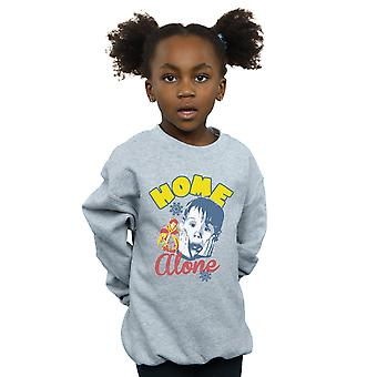 Home Alone Girls Snowflake Retro Sweatshirt