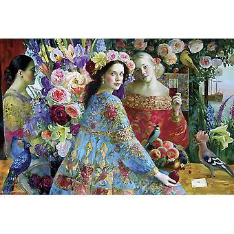 Olga Suvorova Poster Friends