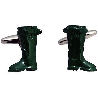 Zennor Wellington laarzen Manchetknopen - groen
