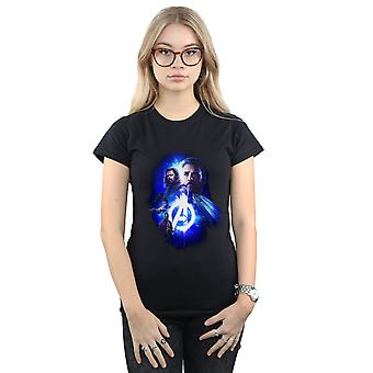 Marvel Women's Avengers Infinity War Cap Bucky Team Up T-Shirt