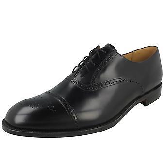 Mens Loake Formal Lace Up Brogue Shoes Oban