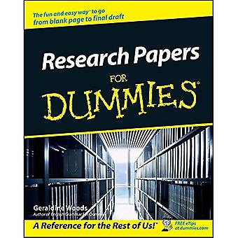 Trabalhos de pesquisa para Dummies