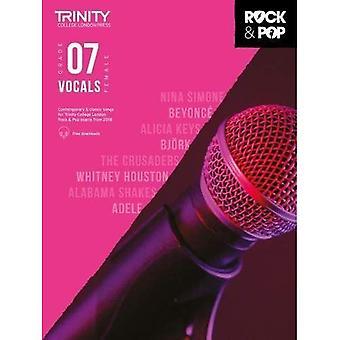 Trinity Rock & Pop 2018 Vocals Grade 7 (Female Voice) - Trinity Rock & Pop 2018 (Sheet music)
