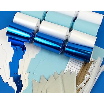 8 Frozen Christmas Make & Fill Your Own Crackers Kit