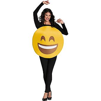 Emoji Smile Adult Costume