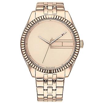 Tommy Hilfiger | Women's Rose Gold Stainless Steel Bracelet | Rose Gold Dia 1782082 Watch