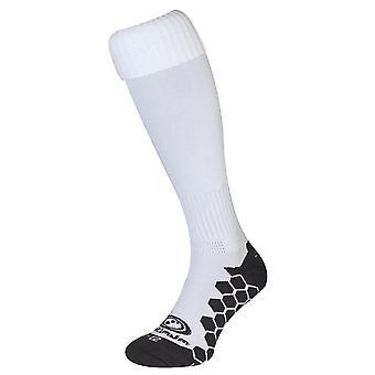 Optimum Classico Football Soccer Rugby Sport Socks White