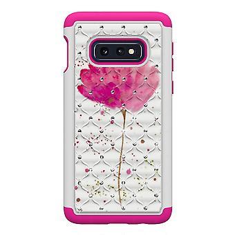 Samsung Galaxy S10e TPU Shell armadura Extra Durable-rosa flor