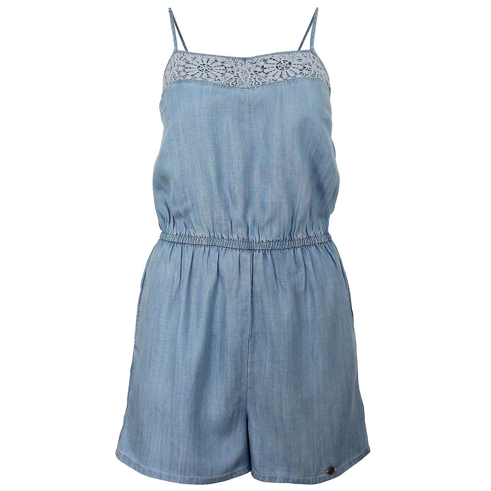 Superdry tess femmes&s vacation bleu playsuit