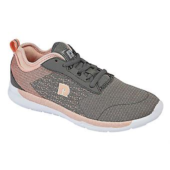 Ladies Womens Trainers Memory Foam Lace Up Lightweight Running Shoes
