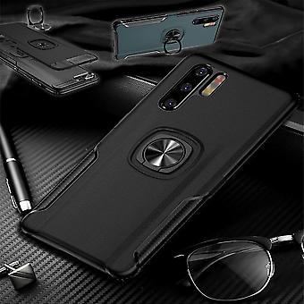 Voor Huawei P30 Pro magneet metalen ring hybride geval zwart geval geval Cover Case bescherming