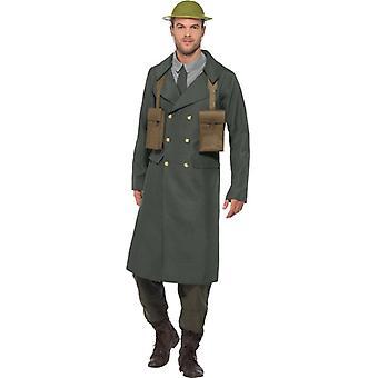 2 ª Guerra Mundial británico soldado traje traje de abrigo masculino Office británico