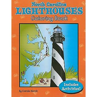 North Carolina Lighthouses Coloring Book by Carole Marsh - 9780635073