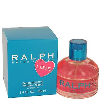 Ralph Lauren Love by Ralph Lauren Eau De Toilette Spray (2016) 3.4 oz / 100 ml (Women)